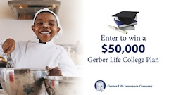Gerber Baby Foods and Gerber Life Feeding Their Future