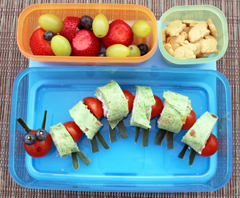 creative lunch ideas to look like a hungry caterpillar