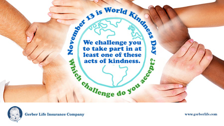 Ten ways to show kindness to others