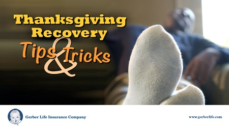 Thanksgiving recovery tips