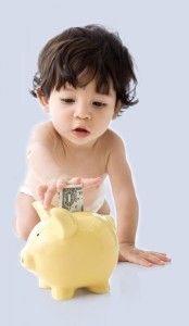Start saving early for your child.