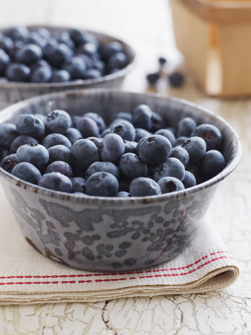 Fresh and Organic Blueberries