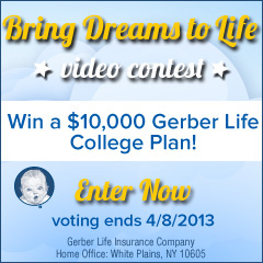 Gerber Life Video Contest Voting Ends April 8