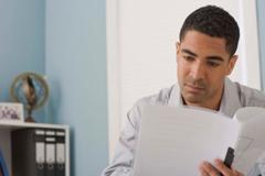 Man Considering Single Premium Life Insurance