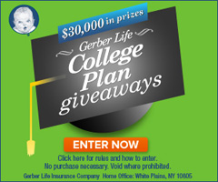 Gerber Life College Plan Giveaways