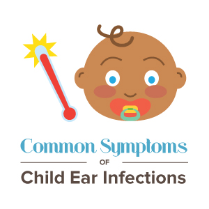 Common symptoms of child ear infections