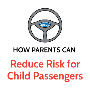 reduce risk for child passengers