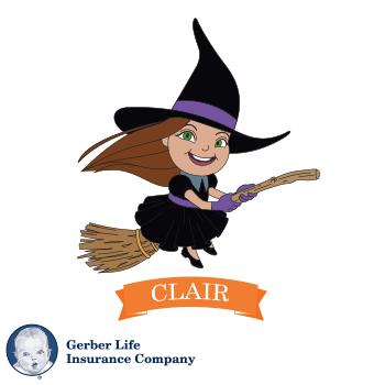 Meet Clair – Gerber Life Halloween Storybook