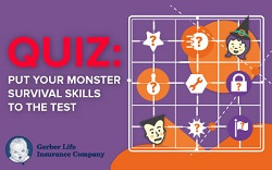 Put your monster survival skills to the test
