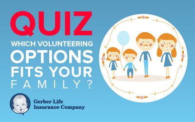 family volunteer opportunities quiz