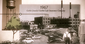 Screenshot from video of the Gerber plant