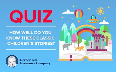 Classic children's story quiz