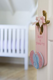 Nursery door sign