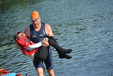 Team Hoyt Competed in the Holland Olympic Triathlon