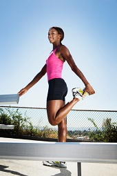Woman-stretching-before-outdoor-workout