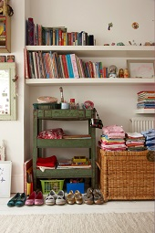 Organized Children's Room