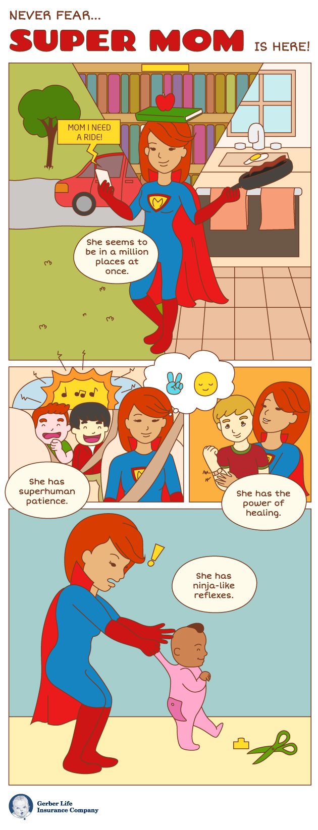 super mom infographic