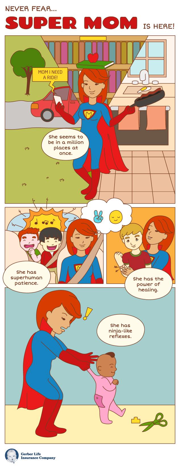 super mom infographic
